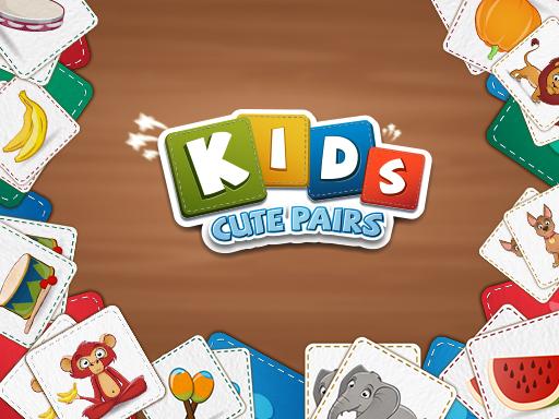 Kids Cute Pairs online hra