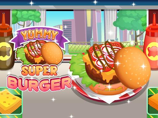 超級美味漢堡--Yummy Super Burger-每個人都喜歡漢堡! 現在是您製作自己超美味漢堡的時候了!按照任務列表中的每個部分準備食材,直到您的漢堡準備好出售。 盡可能快地製作美味的漢堡。 準時為您的客戶服務。