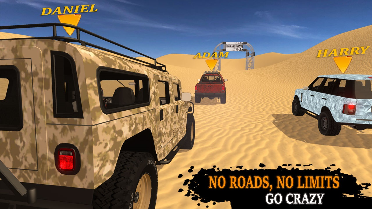 Multiplayer 4×4 offroad drive