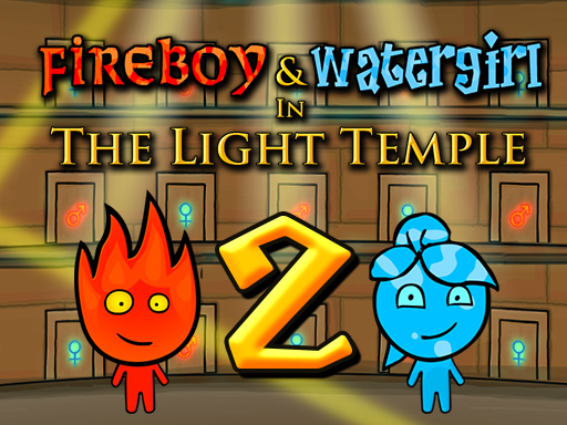 Fireboy and Watergirl 2 Light Temple game