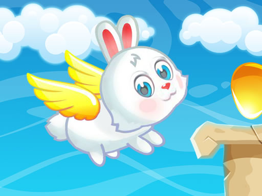 Flying Easter Bunny online hra