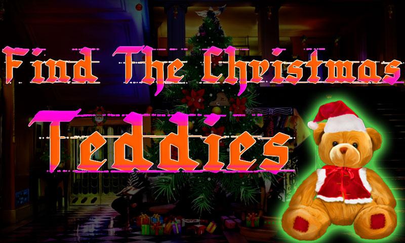 Find The Christmas Teddies