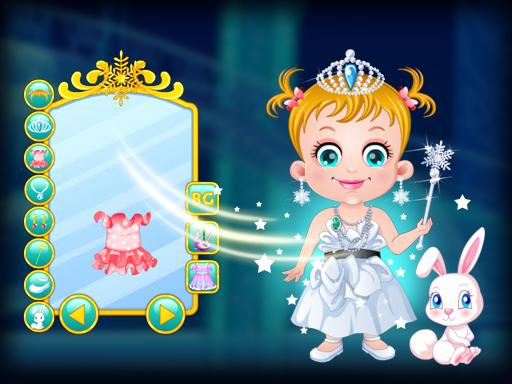 Baby Hazel Ice Princess Dressup Game