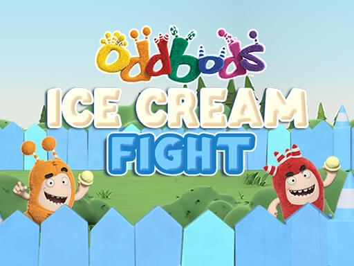 Oddbods Ice Cream Fight online hra