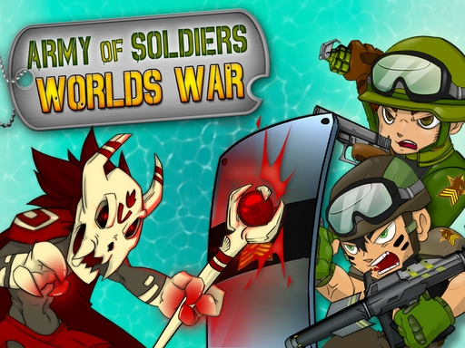Army of Soldiers Worlds War online hra
