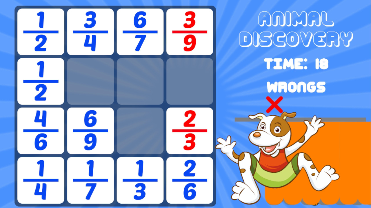 Image Animal Discovery Fraction Addition