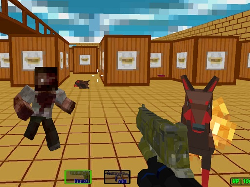 Pixel SWAT Zombie Survival
