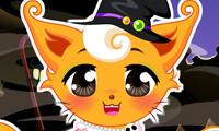 Halloween Kitten Dress Up