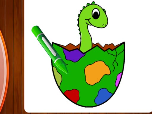 Dinosaurs Coloring Book Part I