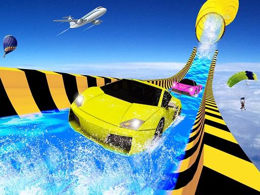 Water Slide Car Racing ...