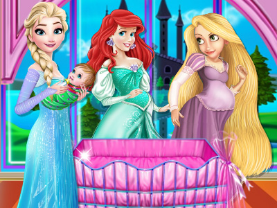 Princesses Baby Bedroom Decor