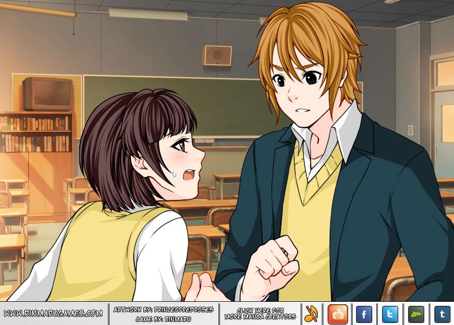 Manga Creator: School Days page.15