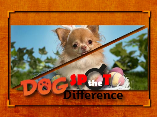 Dog Spot the Difference online hra