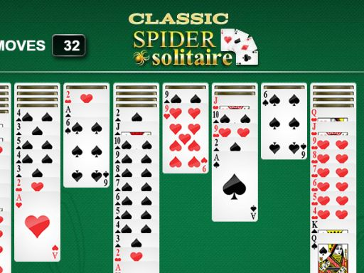 Classic Spider Solitaire game