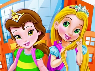 Baby Princesses School Time