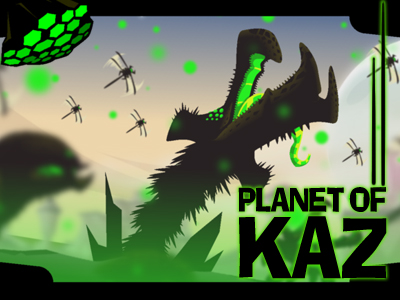 Planet Of Kaz online hra