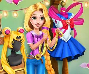Rapunzel Sailor Moon Cosplay