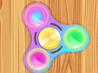 Fidget Spinner Hero online hra