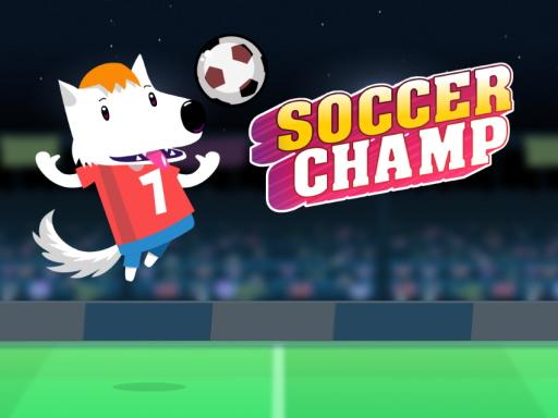 足球冠軍--Soccer Champ-簡單的一鍵式足球遊戲,可愛的狗是踢球員。 當球正好在十字準線上時踢球並進球。 在 30 秒的時限內獲得盡可能高的分數。