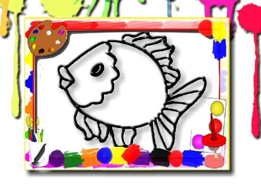 Fish Coloring Book