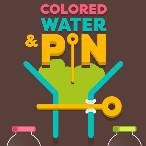Colored Water & Pin