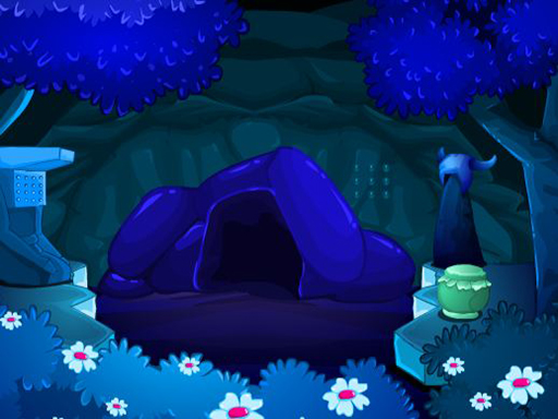 Forêt bleue
