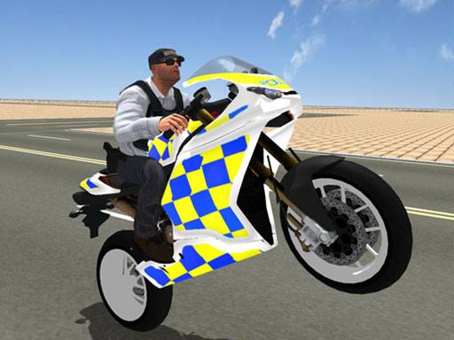 Super Stunt Police Bike ...