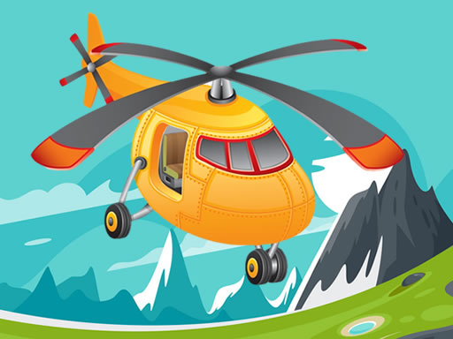 Helicopter Jigsaw online hra