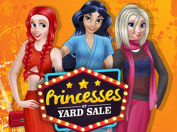 Princesses at Yard Sale online hra