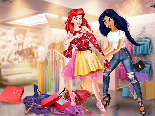 Princesses Shopping Rivals online hra