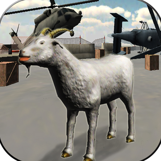 Angry Goat Wild Animal Rampage Game