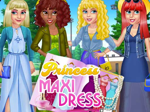 Princess Maxi Dress online hra