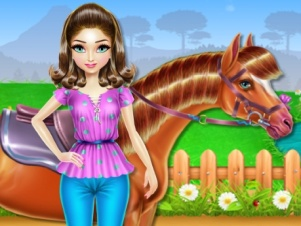 Horse Care and Riding online hra