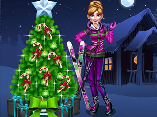 Anna Preparing for Christmas online hra