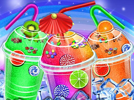 冰凍彩虹--Rainbow Frozen-您想準備冰雪奇緣,炎熱夏日最喜歡的飲品嗎?選擇兩種口味,水果和玻璃裝飾。 根據您的口味準備最美麗的冰凍彩虹吧!