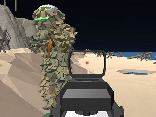 Beach Assault GunGame Survival online hra