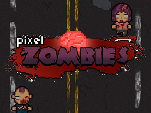 像素殭屍--Pixel Zombies-殭屍入侵了城市。 整個世界都在喪屍的侵襲之下。 你需要殺死傳入的殭屍。 殺人不要遲到。 從入侵中拯救城市並通過關卡並完成遊戲。