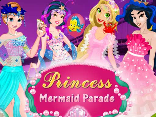 Princess Mermaid Parade online hra