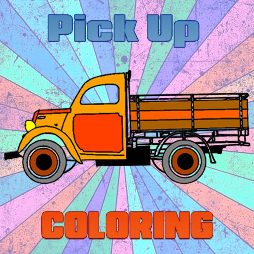 24-pick-up-trucks-coloring