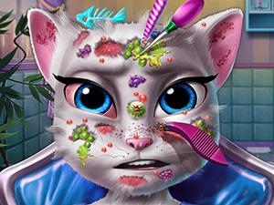 Игра отважный котёнок 4