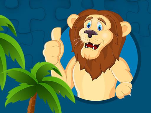 Strong Lions Jigsaw