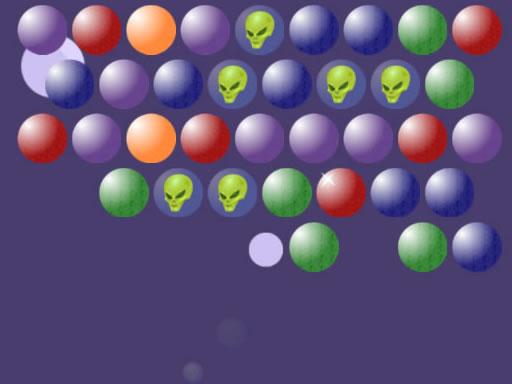 Aliens Bubble Shooter online hra