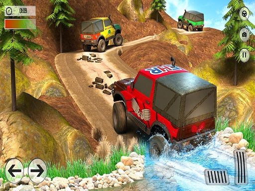 Offroad Jeep Driving ...