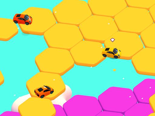 Sport Car Hexagon Game