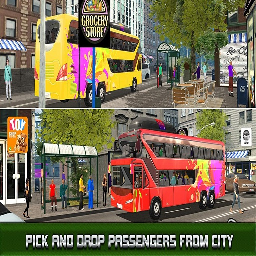 Modern City Bus Driving Simulator New Games