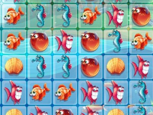 Fish World Match3 online hra