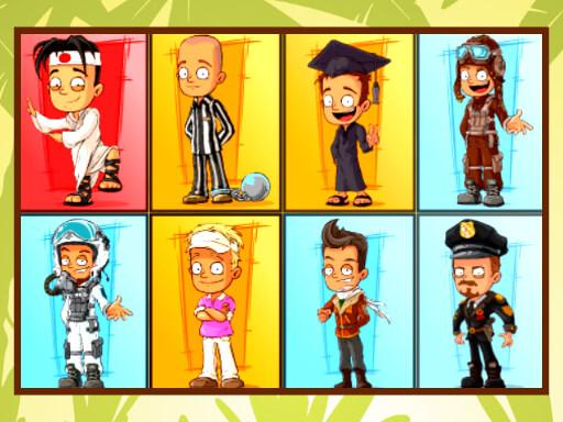 Comic Board Puzzles