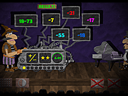 Logical Theatre Nums online hra