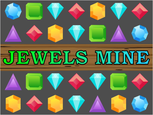 珠寶連連看--Jewels Mine-Jewels Mine 是一款有趣的三消遊戲。 交換並匹配 3 個或更多相同類型的寶石,並獲得積分和特殊能力。 在全球排行榜中賺取積分並與您的朋友和世界各地的所有其他玩家競爭!
