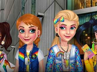 Princess LGBT Parade online hra